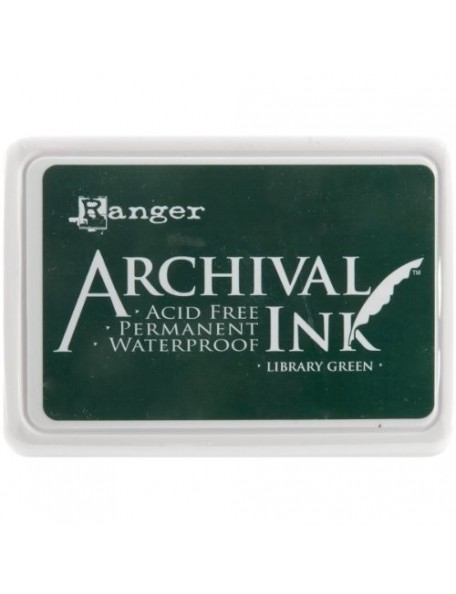 Ranger - Library Green Archival Ink Pad