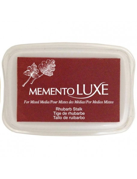 Memento Luxe Ink Pad, Rhubarb Stalk