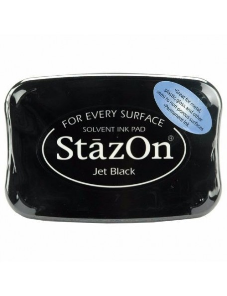 StazOn Solvent Ink Pad, Jet Black