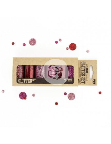 Prima Marketing Finnabair Art Extravagance Glitter , Crimson