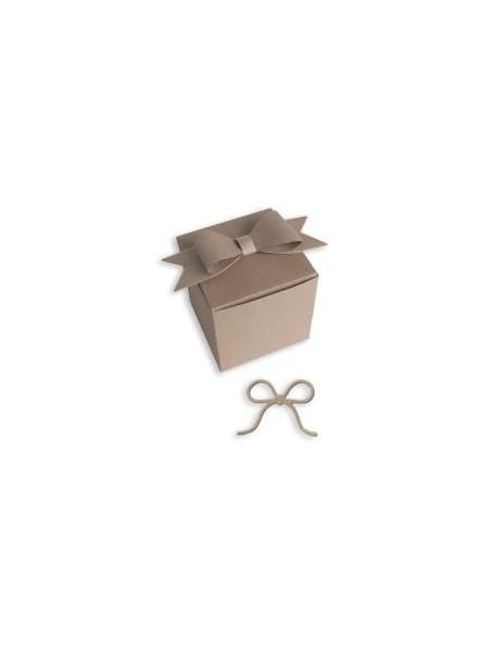 "Little B - Box & Bow, 4 pcs, 1.75"""