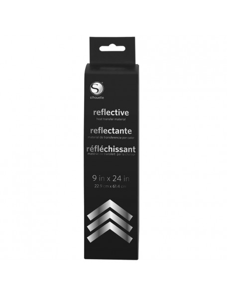 "Silhouette Reflective Heat Transfer 9""X24"" Roll"