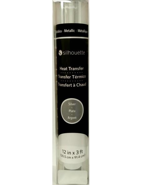 "Silhouette Metallic Heat Transfer 12""X36"" Silver"