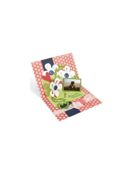 Sizzix Bigz Die Zig Zag 3-D Card Pop-Up