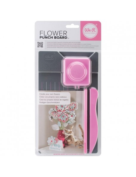 We R Memory Keepers Flower Punch Board