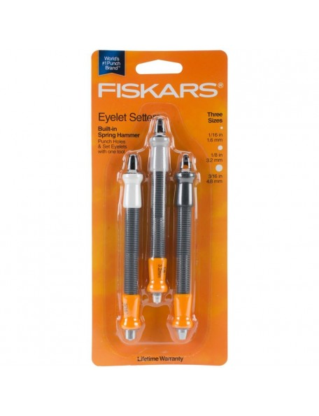 Fiskars Eyelet Setter Set de 3 piezas