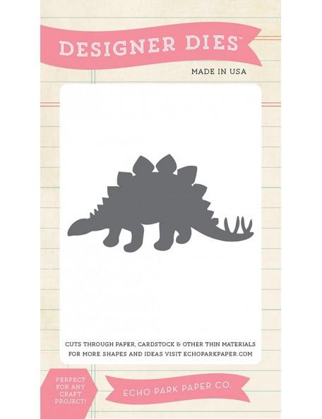 Echo Park Stegosaurus small dies