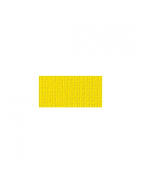 "American Crafts Textured Cardstock 12""x12"", Lemon"
