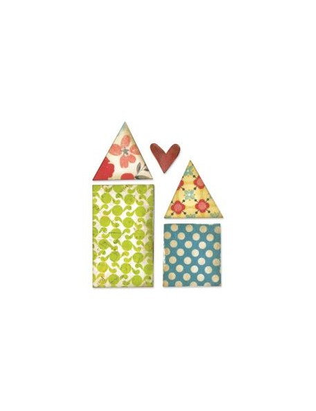 Sizzix Originals Die Houses