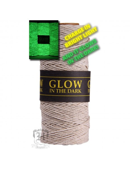 Trade Marker International Glowin Drk-Hemp Cord 20