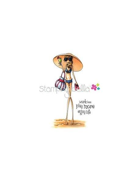 Stamping Bella - Uptown Girl Sandy In Her Sombrero