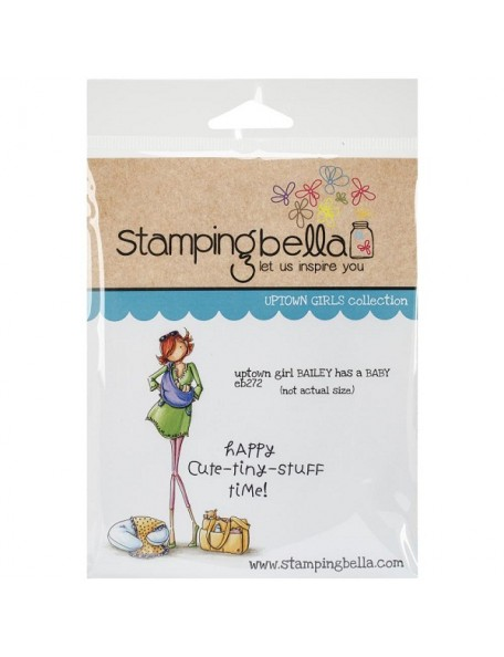 Stamping Bella - Uptown Girl Bailey Has A Baby