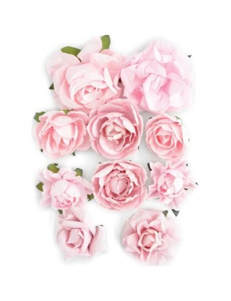 """Kaisercraft Fairy Floss Blooms 1"""" - 1.5"""" 10"""