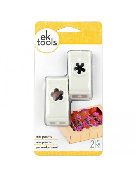 EK Tools - Mini Punch 2 Flor & Retro Flor