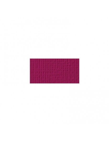 "American Crafts Boysenberry Textured Cardstock 12""X12"""