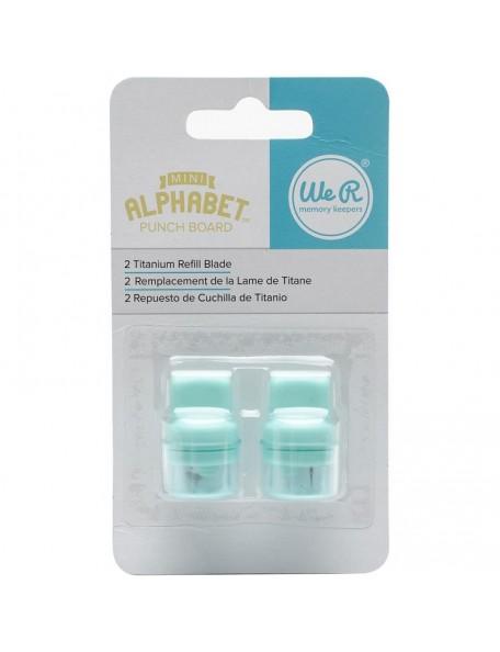 We R Memory Keepers - Cuchillas para Mini Alphabet Troqueladora