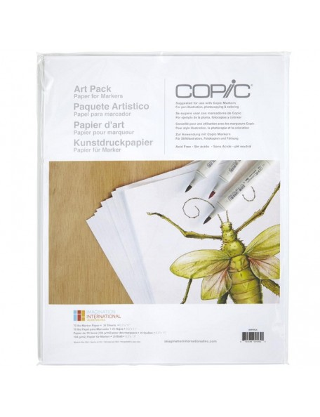 "Copic Art Paper Pack 8,5""x11"""