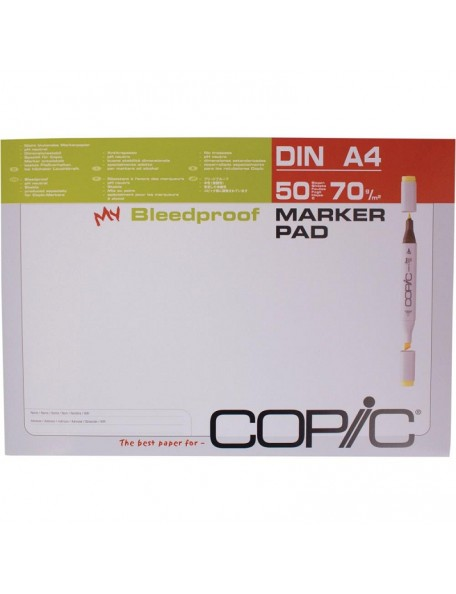 """Copic Marker Pad A4 8,3""""x11,7"""" 50 Hojas"""