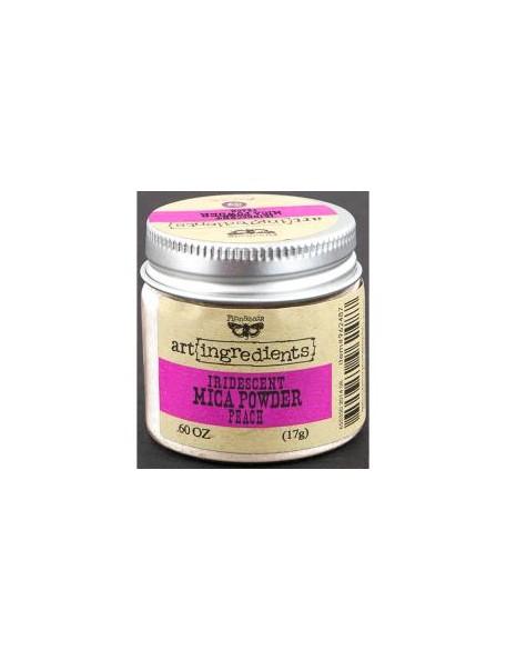 Prima Marketing - Peach Opal Magic Finnabair Art Ingredients Mica Powder .6oz