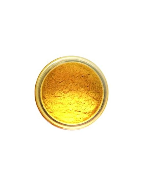 Prima Marketing Finnabair Art Ingredients Mica Powder .6oz, Sunshine Yellow