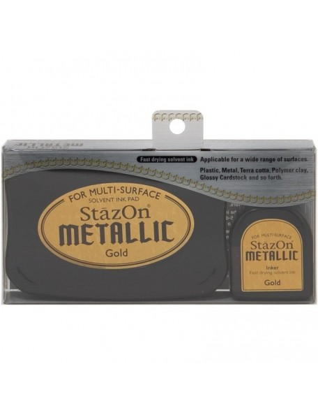 Stazon Oro Metalic Sovent Ink Pad