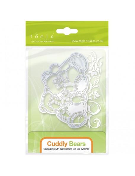 Tonic Studios - Cuddly Bear Rococo Troquel