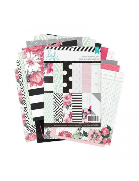 "Heidi Swapp - Hello Beautiful Paper Pack 6""x8"" Hojas de doble cara"