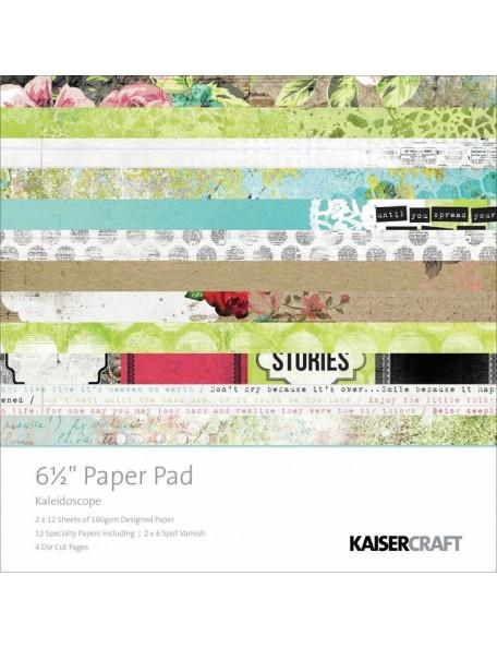 "Kaisercraft - Kaleidoscope Paper Pad 6,5""x6,5"""