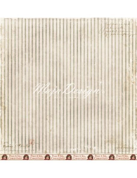 "Maja Design - I Wish Cardstock de doble cara 12""x12"", For Peace and Joy"