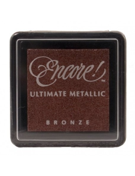 Encore Ultimate Metallic Bronze Small Ink Pad