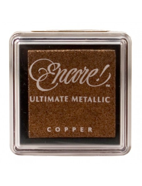 Encore Ultimate Metallic Cobre Small Ink Pad