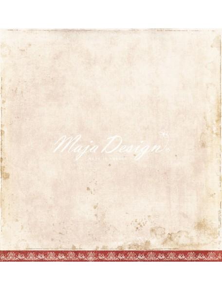 """Maja Design - I Wish Cardstock de doble cara 12""""x12"""", O play in the Snow"""