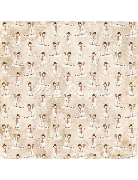 "Maja Design - I wish Cardstock de doble cara 12""x12"", for lots of Snow"