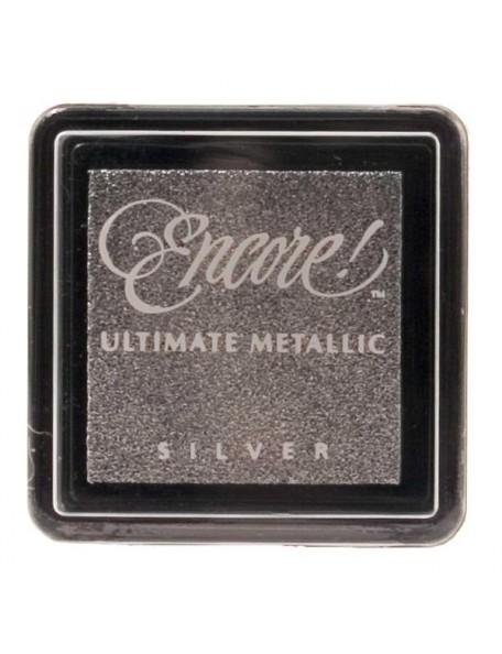 Encore - Plata Ultimate Metallic Small Ink Pad