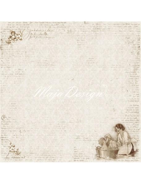 """Maja Design Vintage Baby Cardstock 12""""x12"""", Special Moment Descatalogado"""