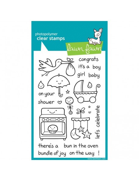 "Lawn Fawn - Plus 1 Clear Stamps 4""X6"""
