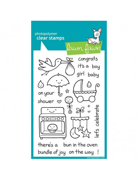 "Lawn Fawn Clear Stamps 4""X6"", Plus 1"