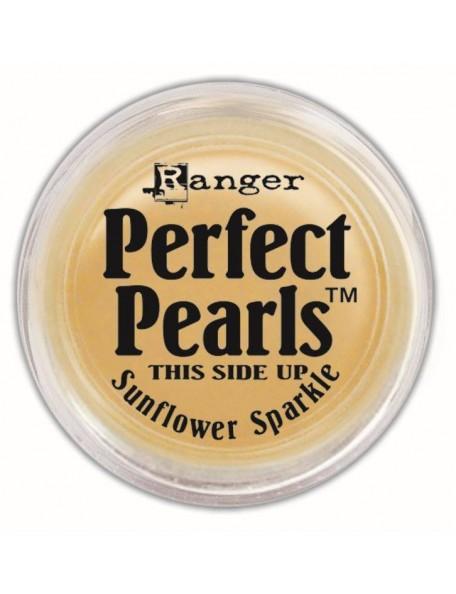 Ranger Sunflower Sparkle Perfect Pearls Pigment Powder .25oz