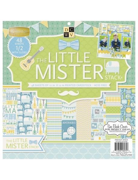 "DCWV - Little Mister Paper Stack 12""X12"" 48"