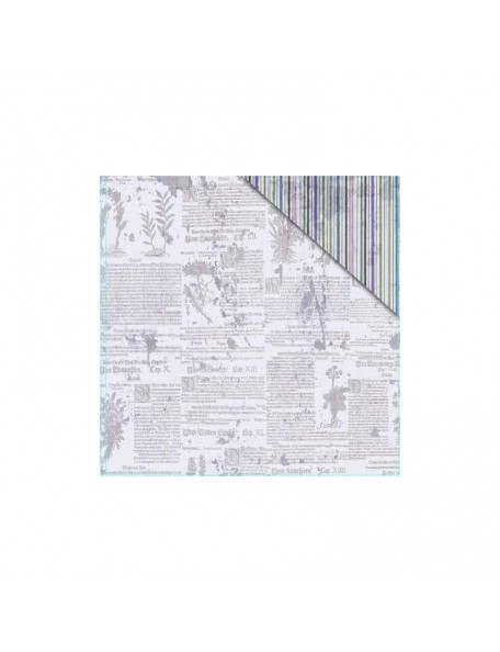 "FabScraps - Serenity Cardstock de doble cara 12""X12"" Serenity 2"