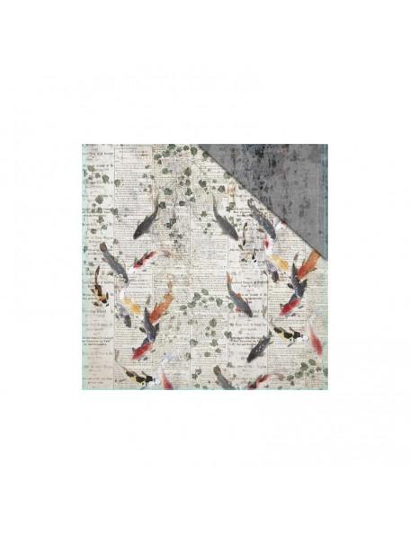 "FabScraps - Serenity Cardstock de doble cara 12""X12"" Harmony"