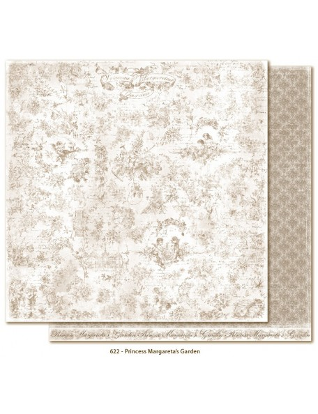 """Maja Design - Sofiero Princess Margaretas Garden Cardstock de doble cara 12""""X12"""""""