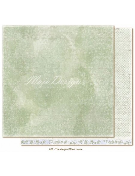 "Maja Design - Sofiero The elegant Wine house Cardstock de doble cara 12""X12"""