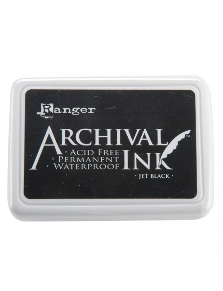 Ranger Jet Black Archival Inkpad