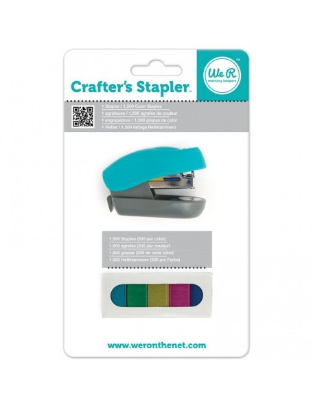 We R Memory Keepers Grapadora - Crafter's Stapler W/1,500 Staples
