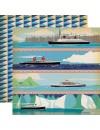"""Carta Bella Let's Cruise Cardstock de doble cara 12""""X12"""" Sea You Later"""