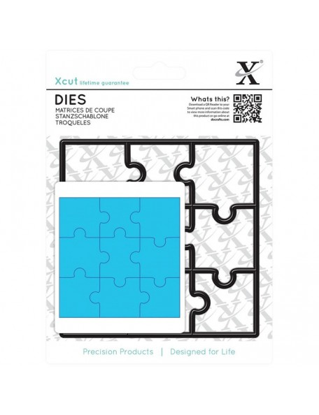 Xcut - Decorative Die Jigsaw Pieces