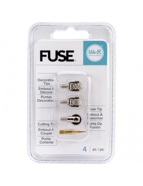 We R Fuse Tool Tips 4 Decorative, Cutting & Fusing