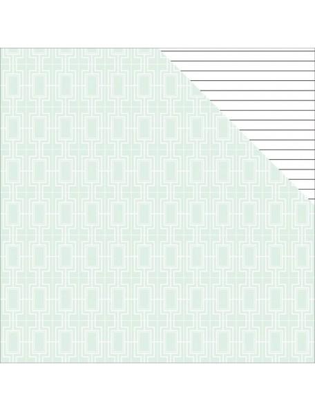 "Teressa Collins - Collector's Edition Cardstock de doble cara 12""X12"" Off The Wall"