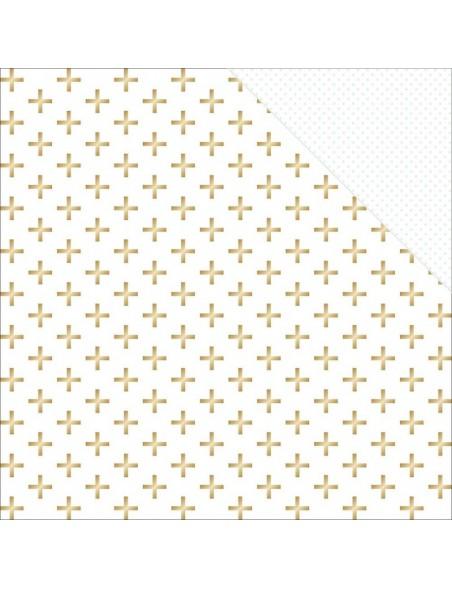"Teressa Collins - Collector's Edition Cardstock de doble cara 12""X12"" Plus (gold Foil)"